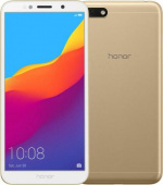 "Honor 7A Gold (51092MUV) MediaTek MT6739/2Gb/16Gb/5.45"" (1440*720)/LTE/3020mAh/And8.0"