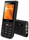 "Intex Ultra 4000 MT6261/32Mb/24Mb/2.4""/MicroSD up to 16Gb/Dual Sim/BT/4000 mAh/Power Bank/Black"