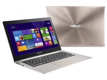 "ASUS ZENBOOK UX303UA (Intel Core i3 6100U 2300 MHz/13.3""/1920x1080/8.0Gb/1000Gb/DVD нет/Intel HD Graphics 520/Wi-Fi/Bluetooth/Win 10 Home) Smoky Brown"